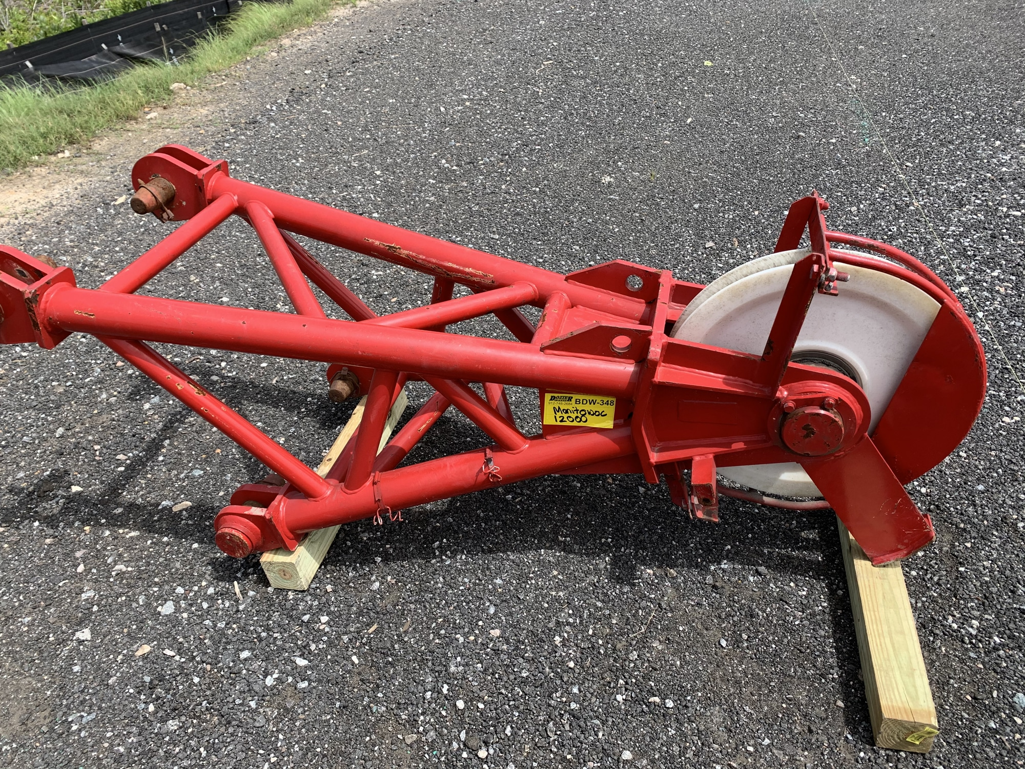MANITOWOC 12000 ROOSTER SHEAVE #BDW-348 Image