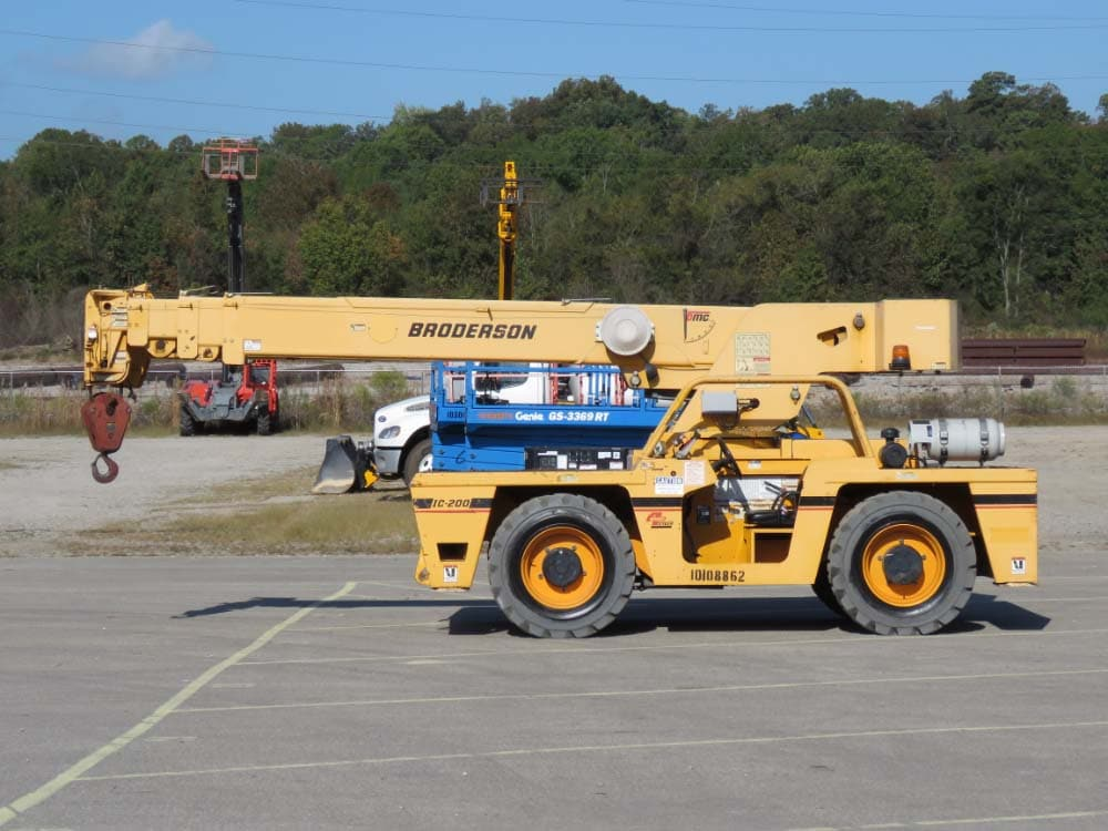 2012 BRODERSON IC-200-3G #1966 Image